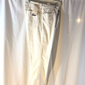 Jones of New York Secret Slimming White Jeans